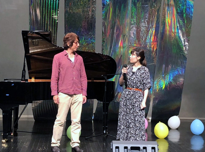 Live in mose 2019生徒発表イベントの様子