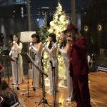 クリスマスパーティーにゴスペルの生演奏